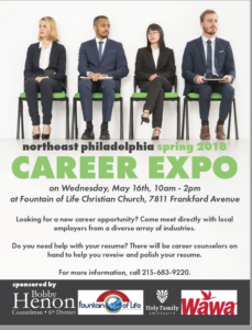 Northeast Philadelphia Spring 2018 Career Expo