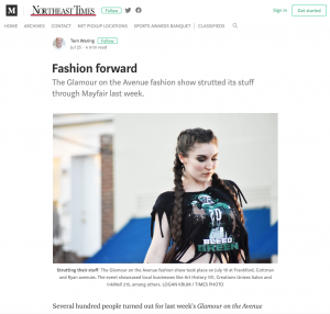 NETimes covers Glamour on the Avenue