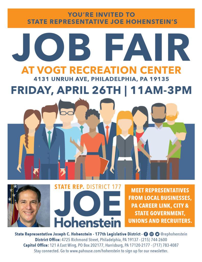 job fair in mayfair
