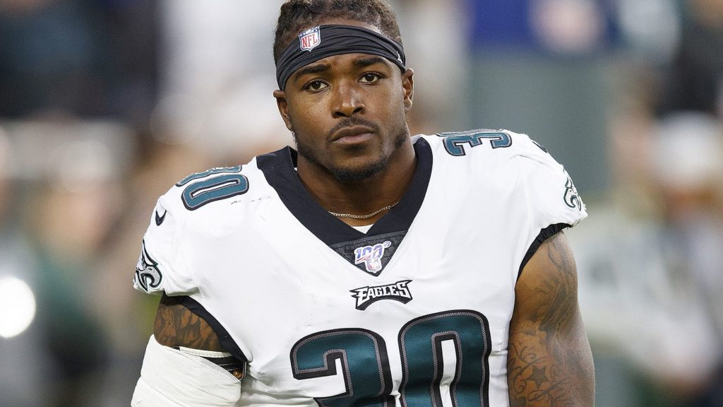 Eagles Running Back Corey Clement
