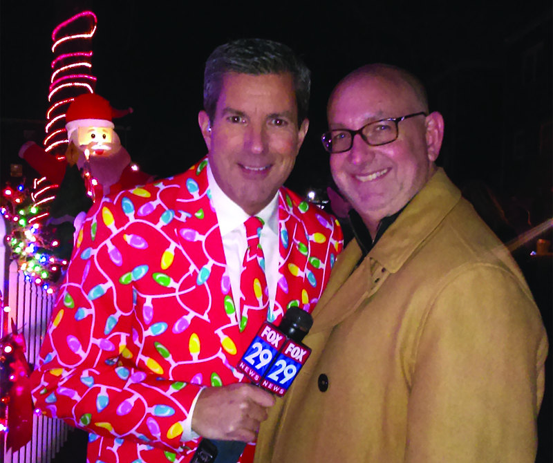 Bob Kelly from Fox29 A Very Kelly Christmas in Mayfair