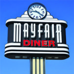 Mayfair Diner Sign