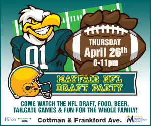 Mayfair NFL Draft Party & Tailgate