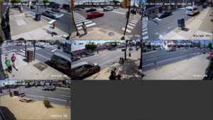 Security Cameras at Frankford Ave and Bleigh Street