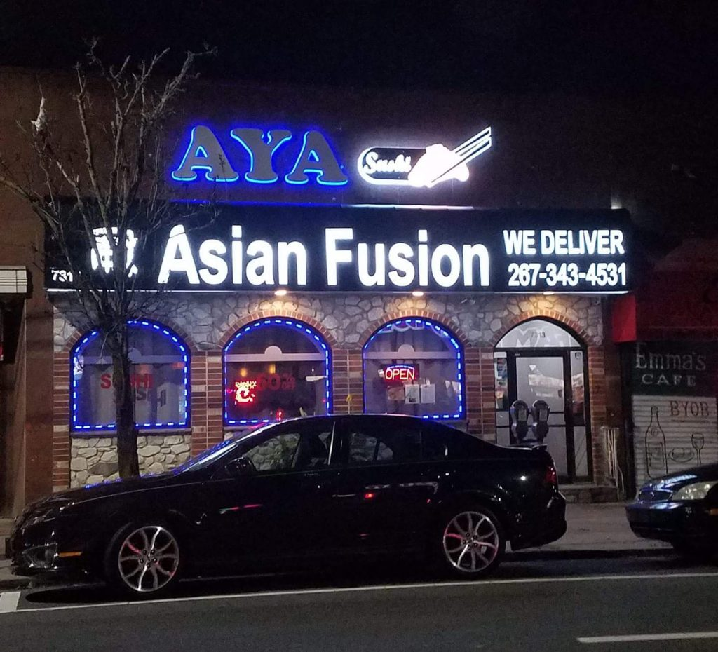 Aya Fusion Storefront Improvement