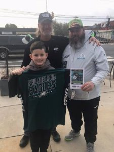 Dunphy Ford Winners from Eagles London Pre-Game Party