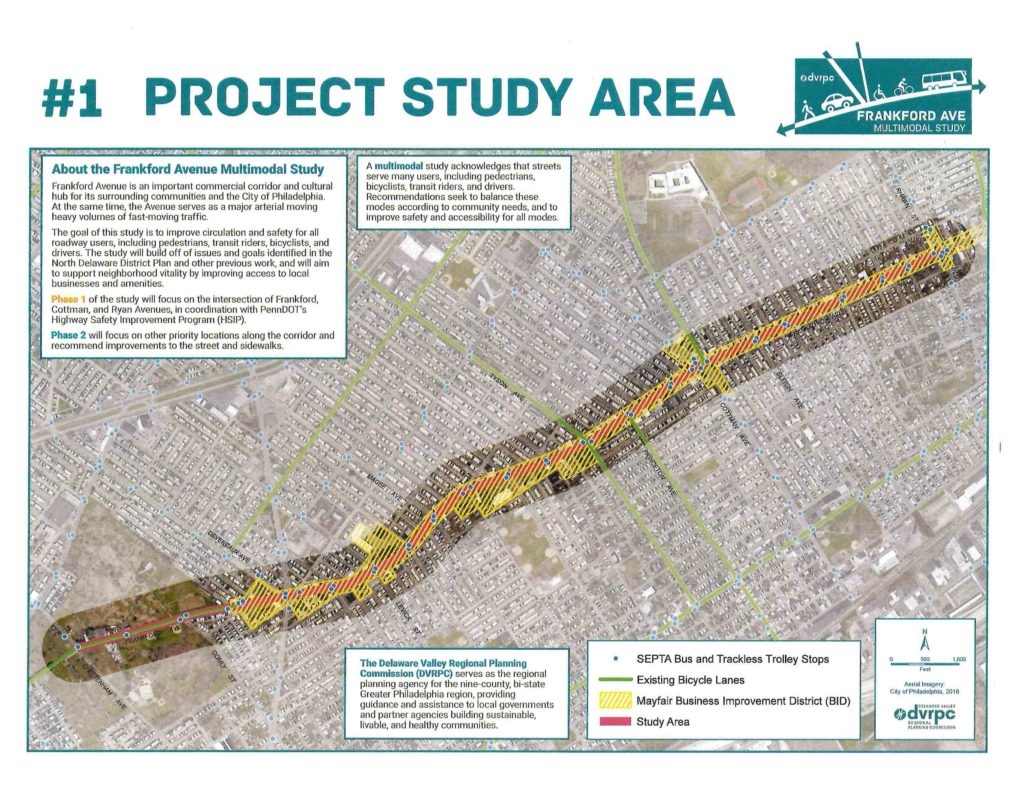 Frankford Avenue Plans Study Area