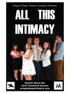all this intimacy at Mayfair Theater