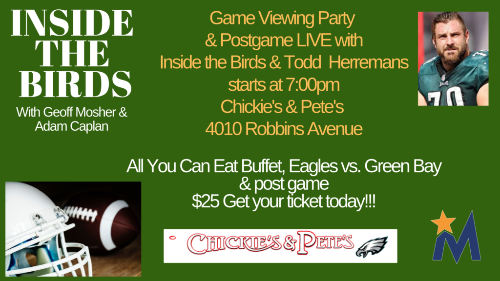 Facebook Event Inside the Birds Game Viewing Party & Postgame